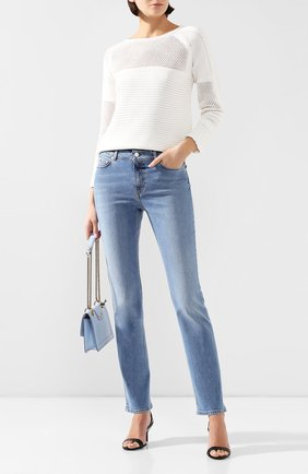 Женские джинсы ESCADA SPORT голубого цвета, арт. 5032895 | Фото 2