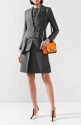 Женский жакет BURBERRY серого цвета, арт. 4564181 | Фото 2