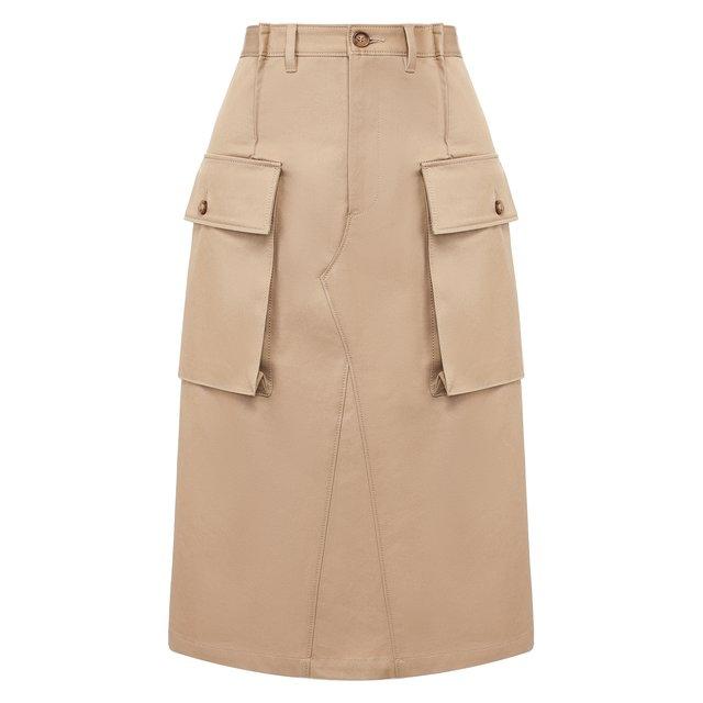 Хлопковая юбка Maison Margiela