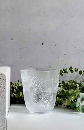 Мужского ваза pivoines small LALIQUE прозрачного цвета, арт. 10708500 | Фото 2