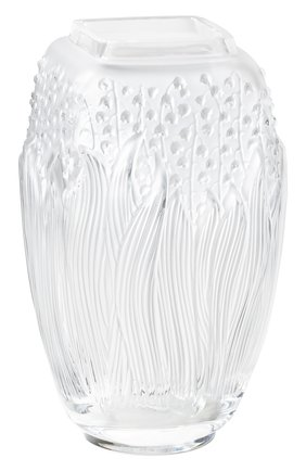 Мужского ваза muguet LALIQUE прозрачного цвета, арт. 10709000 | Фото 1
