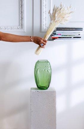 Мужского ваза muguet LALIQUE зеленого цвета, арт. 10709100 | Фото 2