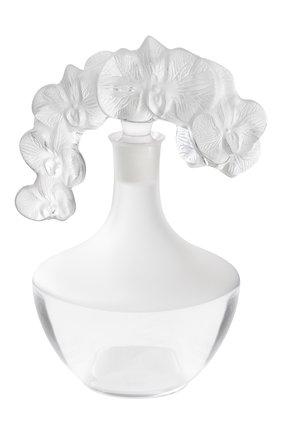 Мужской графин orchid LALIQUE прозрачного цвета, арт. 10709400 | Фото 1
