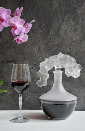 Мужской графин orchid LALIQUE прозрачного цвета, арт. 10709400 | Фото 2