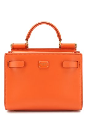 Женская сумка sicily 62 small DOLCE & GABBANA оранжевого цвета, арт. BB6836/AV385 | Фото 1