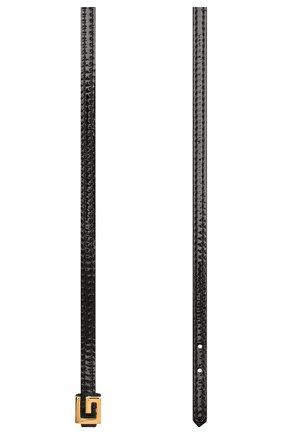 Женское кожаный чокер GUCCI черного цвета, арт. 621281/J1745 | Фото 2