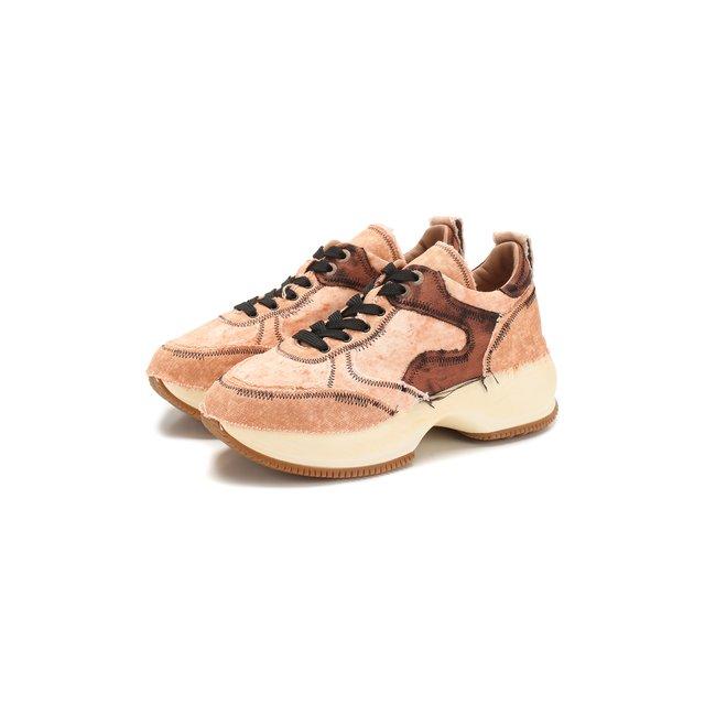 Текстильные кроссовки Hogan — Текстильные кроссовки