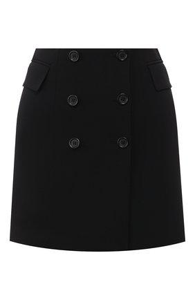 Женская юбка-мини DOLCE & GABBANA черного цвета, арт. F4BWGT/FUCC6 | Фото 1
