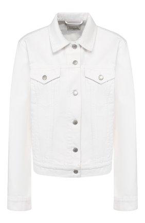 Женская джинсовая куртка DRIES VAN NOTEN белого цвета, арт. 201-10568-9395 | Фото 1