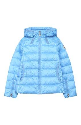 Детского пуховая куртка MONCLER голубого цвета, арт. F1-954-1A131-10-53048/4-6A   Фото 1