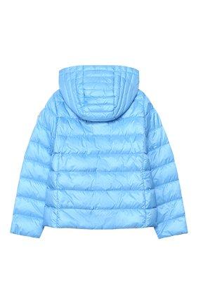 Детского пуховая куртка MONCLER голубого цвета, арт. F1-954-1A131-10-53048/4-6A   Фото 2