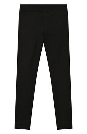 Детские хлопковые леггинсы MONCLER черного цвета, арт. F1-954-8H709-10-809DQ/4-6A | Фото 2