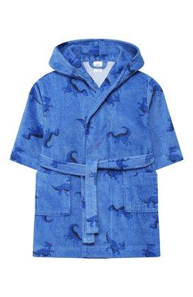 Детский халат SANETTA синего цвета, арт. 232444 50134 | Фото 1