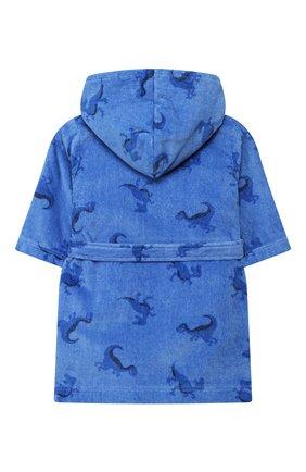 Детский халат SANETTA синего цвета, арт. 232444 50134 | Фото 2