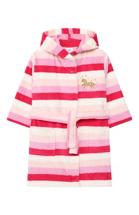 Детский халат SANETTA розового цвета, арт. 232457 3845 | Фото 1