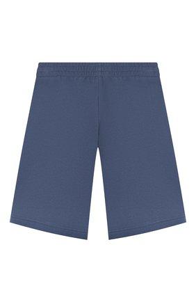 Детские хлопковые шорты EA 7 синего цвета, арт. 3HBS52/BJ05Z | Фото 2
