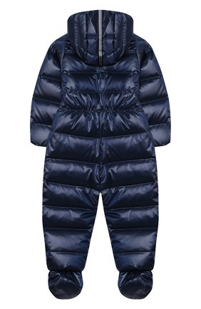 Детский пуховый комбинезон CHEPE темно-синего цвета, арт. 391077 | Фото 2