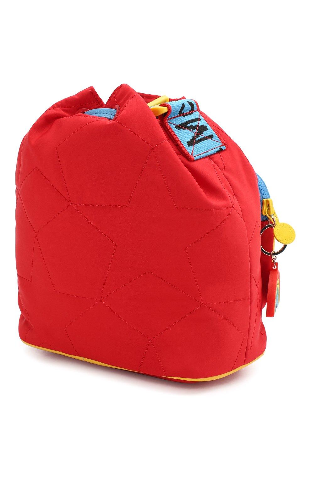Детская сумка STELLA MCCARTNEY красного цвета, арт. 594267/S0D29   Фото 2