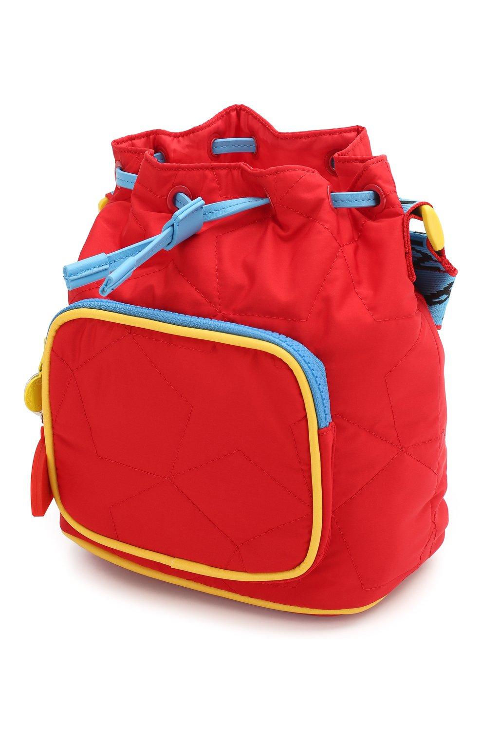Детская сумка STELLA MCCARTNEY красного цвета, арт. 594267/S0D29   Фото 3