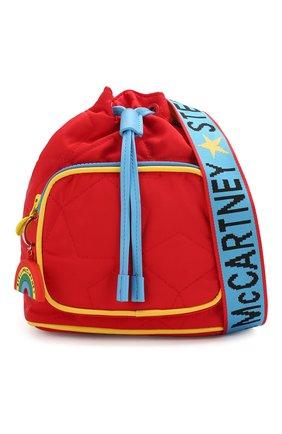 Детская сумка STELLA MCCARTNEY красного цвета, арт. 594267/S0D29   Фото 4