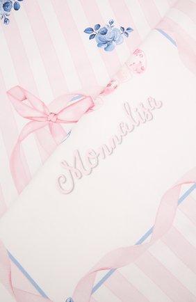 Детского покрывало MONNALISA белого цвета, арт. 355000 | Фото 2