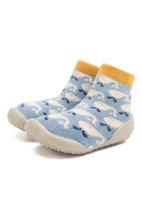 Детского домашняя обувь COLLEGIEN голубого цвета, арт. 512A/18-35 | Фото 1