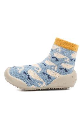 Детского домашняя обувь COLLEGIEN голубого цвета, арт. 512A/18-35 | Фото 2