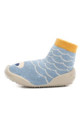 Детского домашняя обувь COLLEGIEN голубого цвета, арт. 512C/18-35 | Фото 2