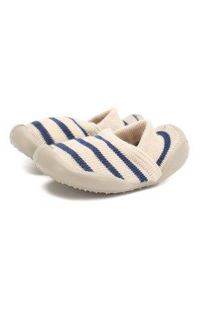 Детского домашняя обувь COLLEGIEN белого цвета, арт. 513A/18-35 | Фото 1