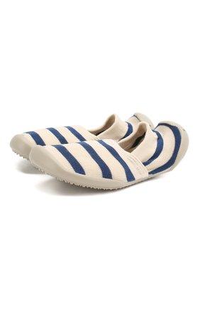 Детского домашняя обувь COLLEGIEN белого цвета, арт. 513A/36-39 | Фото 1
