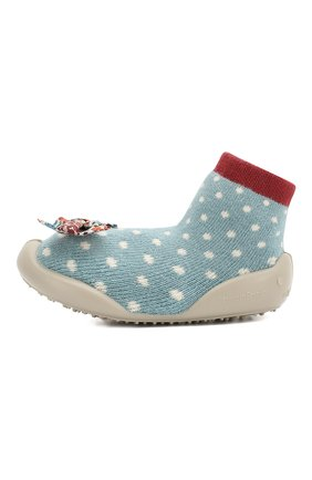 Детского домашняя обувь COLLEGIEN голубого цвета, арт. 510F/18-35 | Фото 2