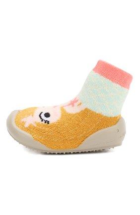 Детского домашняя обувь COLLEGIEN желтого цвета, арт. 512B/18-35 | Фото 2