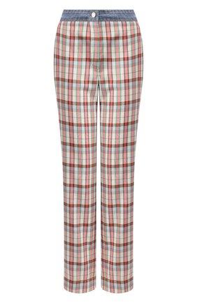 Женские брюки  STEVE J & YONI P розового цвета, арт. PW2A1W-PC020W | Фото 1