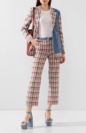 Женские брюки  STEVE J & YONI P розового цвета, арт. PW2A1W-PC020W | Фото 2