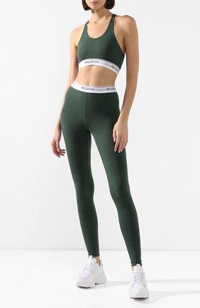 Женская топ WILDFOX темно-зеленого цвета, арт. WCM178000 | Фото 2