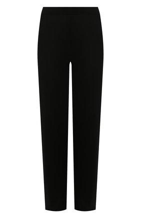 Женские брюки из смеси кашемира и шелка IL BORGO CASHMERE черного цвета, арт. 54-1138C-M0DG0 | Фото 1