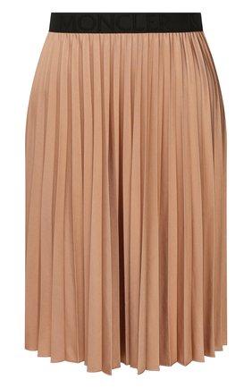 Женская юбка MONCLER бежевого цвета, арт. F1-093-8H709-20-C8030 | Фото 1