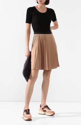Женская юбка MONCLER бежевого цвета, арт. F1-093-8H709-20-C8030 | Фото 2