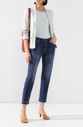 Женские джинсы WINDSOR синего цвета, арт. 52 GWEN-0H 10007048 02 | Фото 2