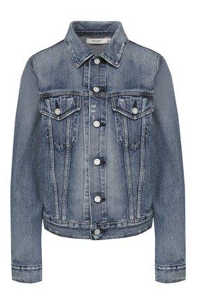 Женская джинсовая куртка MOUSSY голубого цвета, арт. 025DSC11-1160 | Фото 1