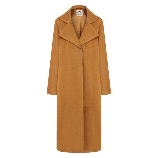 Замшевое пальто Totême