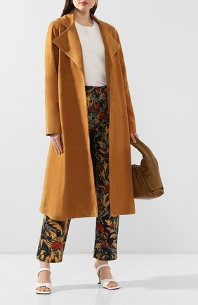 Замшевое пальто | Фото №2