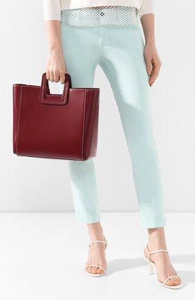 Женская сумка shirley  STAUD бордового цвета, арт. 07-9042 | Фото 2