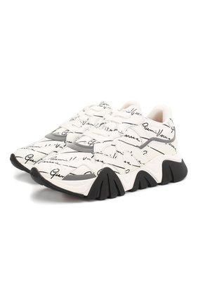 Кожаные кроссовки Squalo | Фото №1