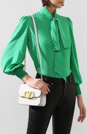 Женская  сумка valentino garavani vsling small VALENTINO белого цвета, арт. TW0B0F01/ACY | Фото 2
