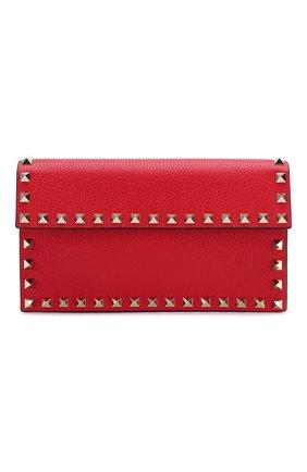 Женская сумка valentino garavani rockstud VALENTINO красного цвета, арт. TW2P0T37/VSH | Фото 1