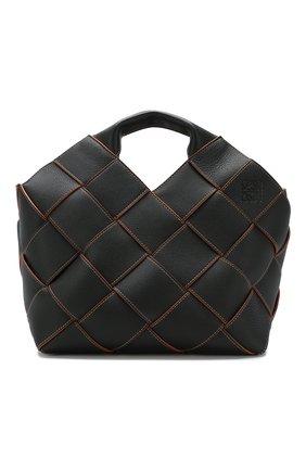 Женская сумка woven LOEWE черного цвета, арт. 321.12.L62 | Фото 1
