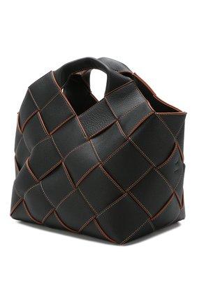 Женская сумка woven LOEWE черного цвета, арт. 321.12.L62 | Фото 3