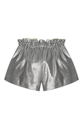 Детские шорты SIMONETTA серебряного цвета, арт. 1M6169/MB620/10-14+ | Фото 2