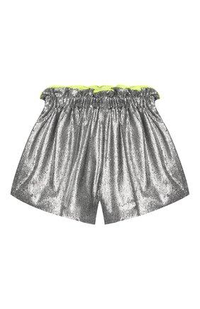 Детские шорты SIMONETTA серебряного цвета, арт. 1M6169/MB620/5-8 | Фото 1